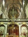 Снимок сделан внутри  Церкви  Богоматери.