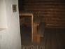 Лестница на полок в баньке.