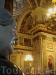 Архитектор Огюст Монферран на фоне своего творения