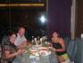 Вечер второо дня, в первом из ресторанов