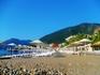 пляж у отеля Амос