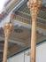 в традиционной узбекской архитектуре бытует три разновидности резных колонн. Они могут быть вырезаны из цельного куска дерева вместе с базой, иногда деревянная ...