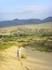 Восхождение на пески Сарыкума, еще только на полпути к вершине не самого высокого бархана =)