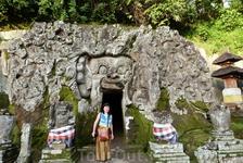 Бали.Храм Ганеша.