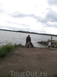 На Сиверском озере