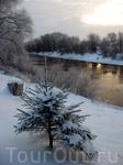 Николо-Косинский монастырь на берегу этой речки. Место красивое