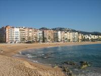 пляж в горде Ллорет де Мар