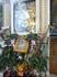 Чудотворная икона Георгия Победоносца. Очень древняя, исцеляет людей. Возле неё люди оставляют разные подношения, а также, если присмотреться, можно увидеть ...