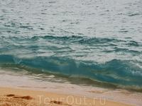 Пляж Ллорета, высокие волны...