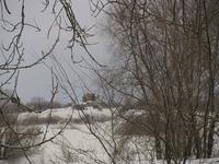 Рюриково городище. Вид от монастыря.