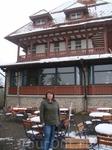 Ресторанчик и сувенирный магазин на высоте 1350м.