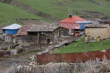 Сванетия. Село Ушгули. Гостиница.