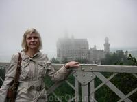 В туманной дымке - закок сказочного баварского короля Людвига II - Нойшванштайн