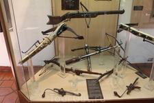 Коллекция оружия и доспехов