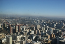 Вид со смотровой площадки в центре города