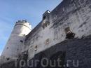 Стена крепости.