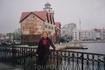 """С  Медового  Моста хорошо  видна  """" Рыбная  Деревня""""- квартал, застроенный  зданиями  в  немецком  стиле   под  архитектуру  довоенного  Кенигсберга,протяженностью ..."""