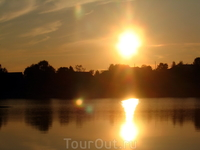 Июльский закат над Сегозером