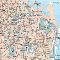 Карта Одессы с улицами