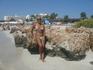пляж Нисси бич минутах в 15 ходьбы от отеля