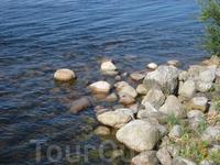 Крепость Орешек, чистейшая вода устья Невы, и не скажешь что эта та же Нева что укутана камнем в городе