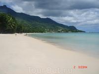 Маэ. Пляж Бо Валлон