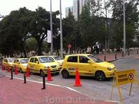не только Нью-Йорк славится желтыми такси