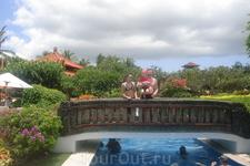 Бали/отель Хилтон