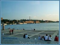 Вечерние виды Стокгольма. Озеро Меларен.