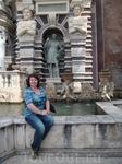 У фонтана Органа