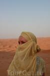 среди пустыни