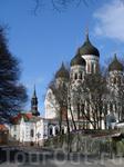крупнейший в Таллинне православный собор Александра Невского
