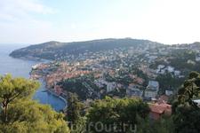 Вид с горной дороги, едем в Монако