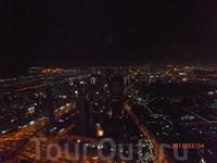 вид Дубая с башни Бурдж-Халифа 3