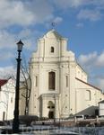 Здание государственного архива. Ранее монастырь бернардинцев.