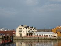 Вид на Анкер Врюгге, отель с рестораном и баром. Уютное местечко :)