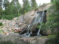 Водопад парка Сапокка