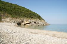 Пляж Iliodoros, теперь без шторма