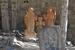 Гехард – один из древнейших монастырей Армении. Его сооружения частично вырезаны в скале. Внутри главного храма очень темно: освещением служит лишь узкое отверстие в куполе и свечи. Основной объём хра