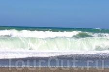 Вот так нас встречало Критское море