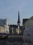 """улица Pikk, в переводе """"длинная"""". Наверное, есть в каждом эстонском городе. На сегодняшний день она совсем не самая длинная в Раквере. А раньше была и ..."""