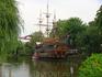 Коравелла, на которой плавает принцесса этого сказочного государства - Тиволи