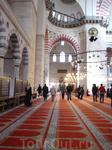 мечеть Сулеймание изнутри.Архитектор  Синан