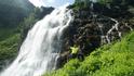 На Большом Имеретинском водопаде. С водопада начинается самая трудная часть пути с большим набором высоты