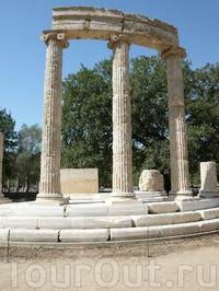 Археологические памятники Олимпии