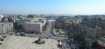 Вид с первого этажа колокольни Софийского музея