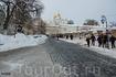 Киево-Печерская Лавра вид на трапезную церковь