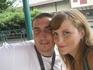 Мы на одном из аттракционов в парке Порт Авентура. От парка в восторге! Столько адреналина и впечатлений, супер!