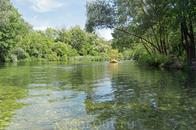 Рафтинг на реке Цетина.