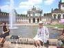 По пути в Испанию на автобусе сначала осмотрели Дрезден и,непосредственно,Цвингер и Дрезденскую галерею